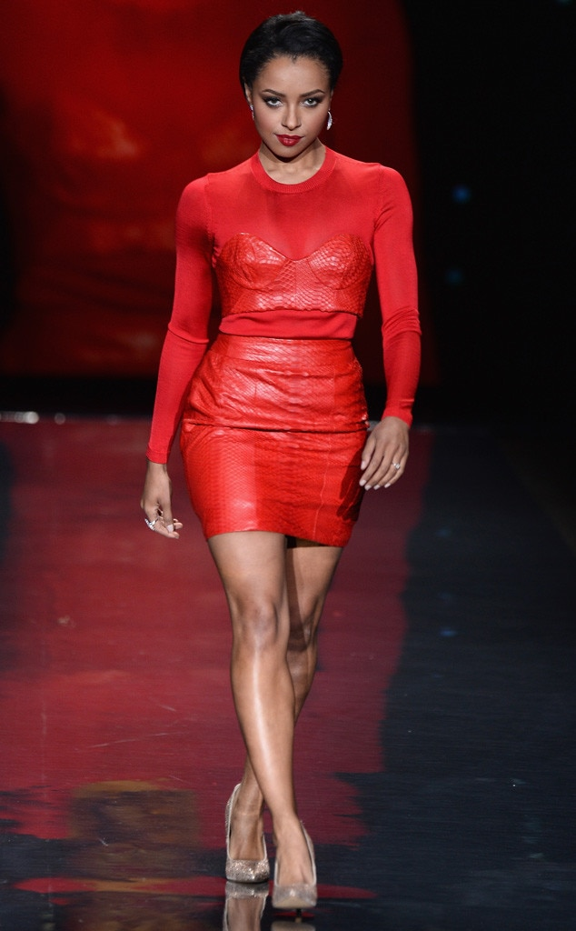 Kat Graham, Red Dress
