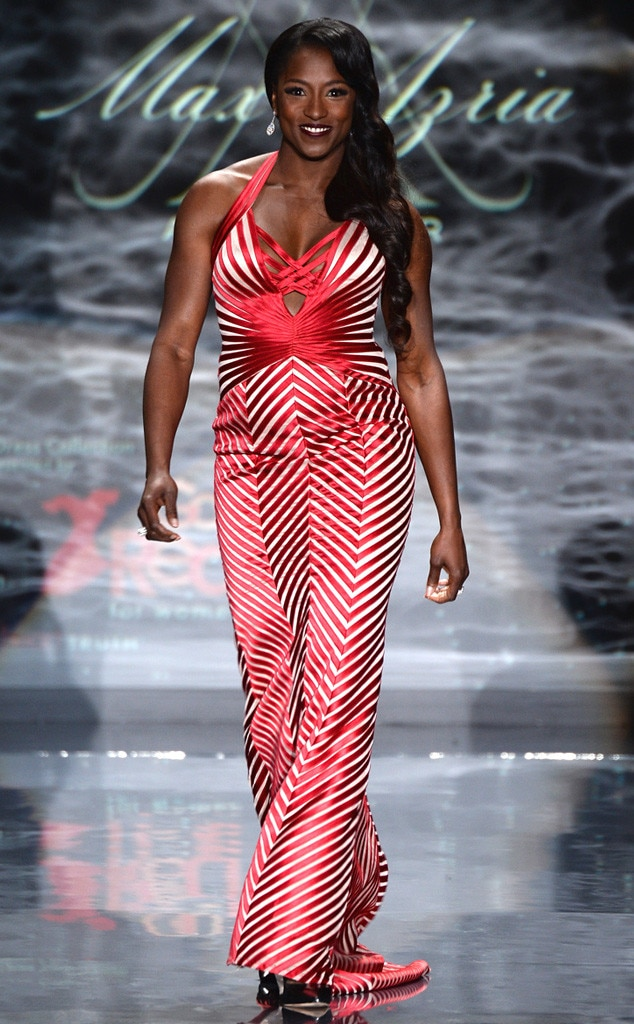 Rutina Wesley, Red Dress