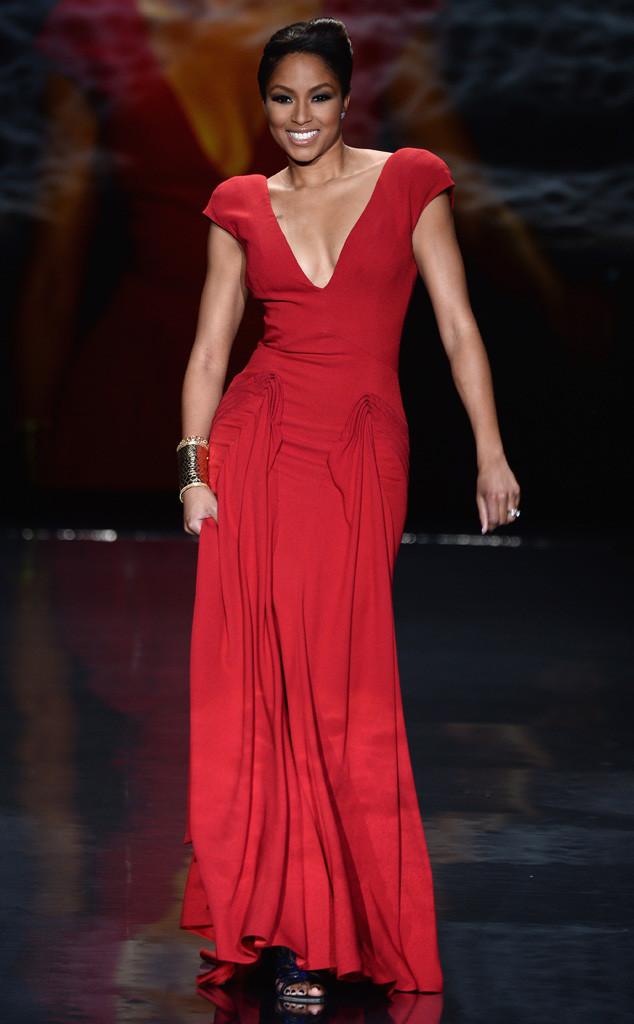 Alicia Quarles, Red Dress