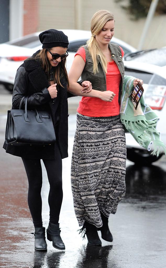 Lea Michele, Heather Morris