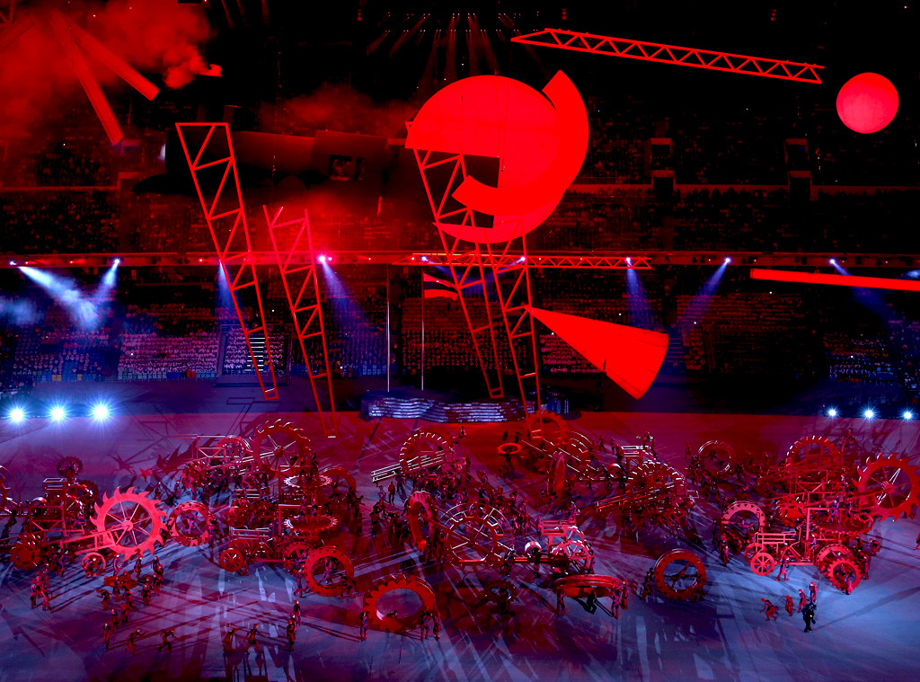 Revolutian Scene, Opening Ceremony, Olympics, Sochi