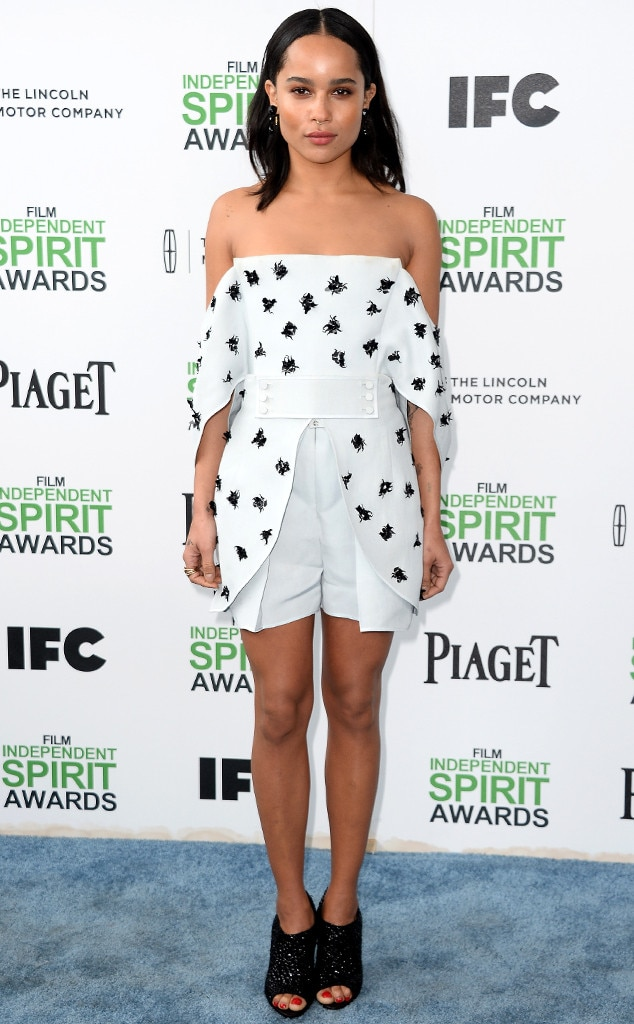 Zoe Kravitz, Film Independent Spirit Awards