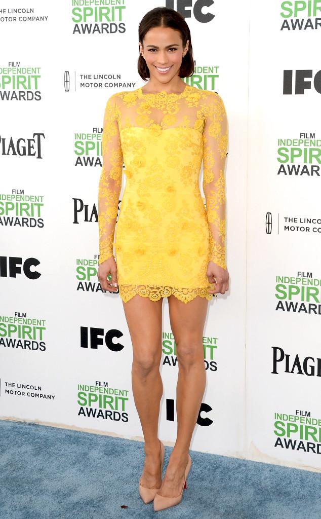 Paula Patton Makes First Red Carpet Appearance Post Split  E News-3596