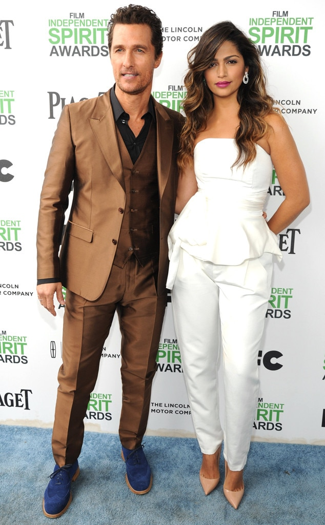Matthew McConaughey and Camila Alves, Film Independent Spirit Awards