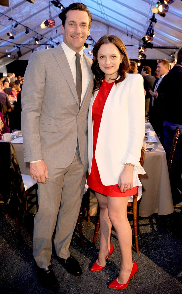 Jon Hamm, Elisabeth Moss, Film Independent Spirit Awards