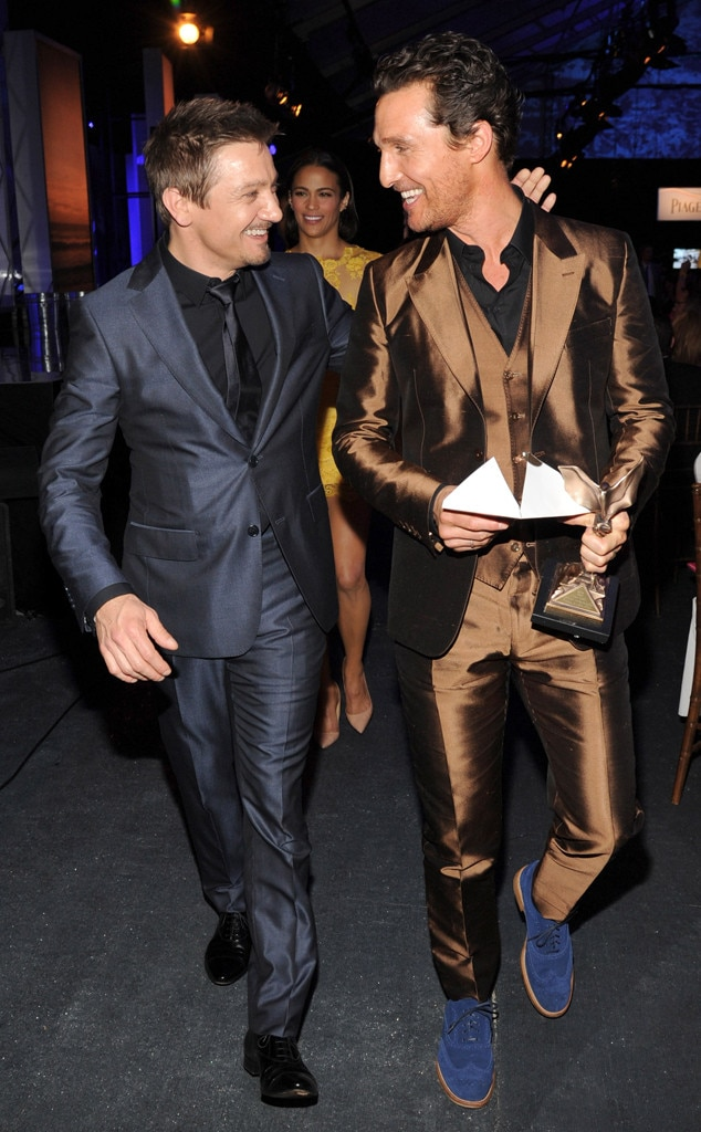 Jeremy Renner, Matthew McConaughey, Independent Spirit Awards