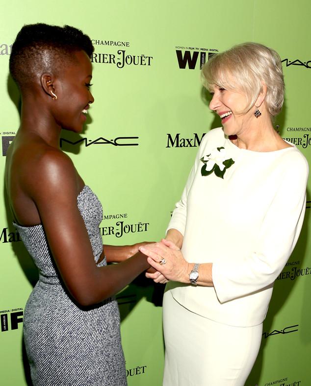 Helen Mirren, Lupita Nyong'o