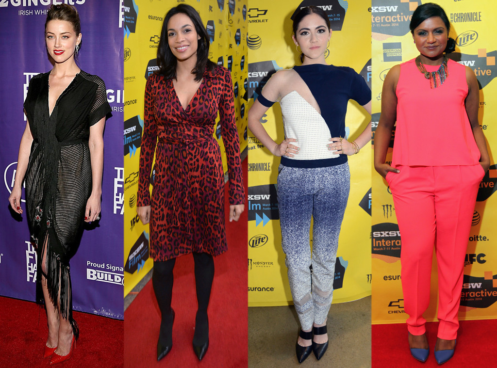 Best Dressed at SXSW 2014: Amber Heard, Mindy Kaling & More