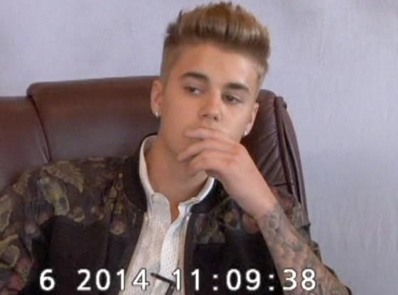 Justin Bieber, Deposition
