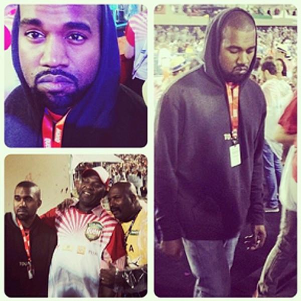 Kanye West, Brazil