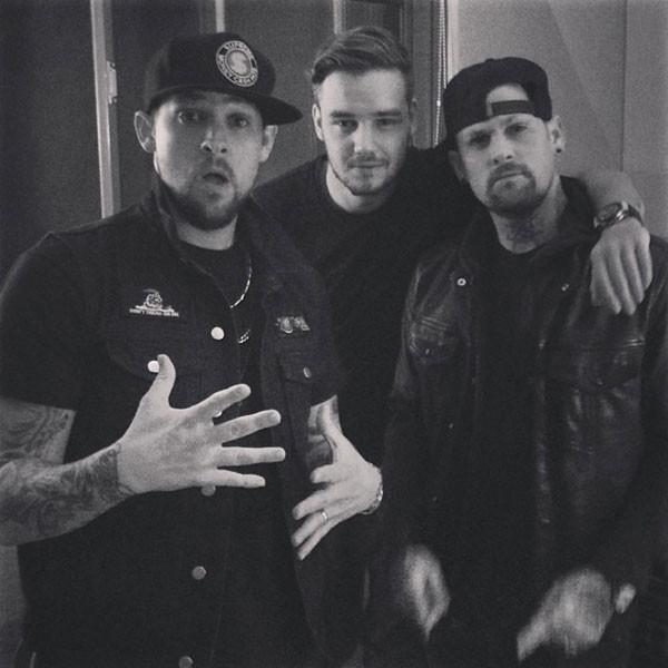 Liam Payne, Benji Madden, Joel Madden