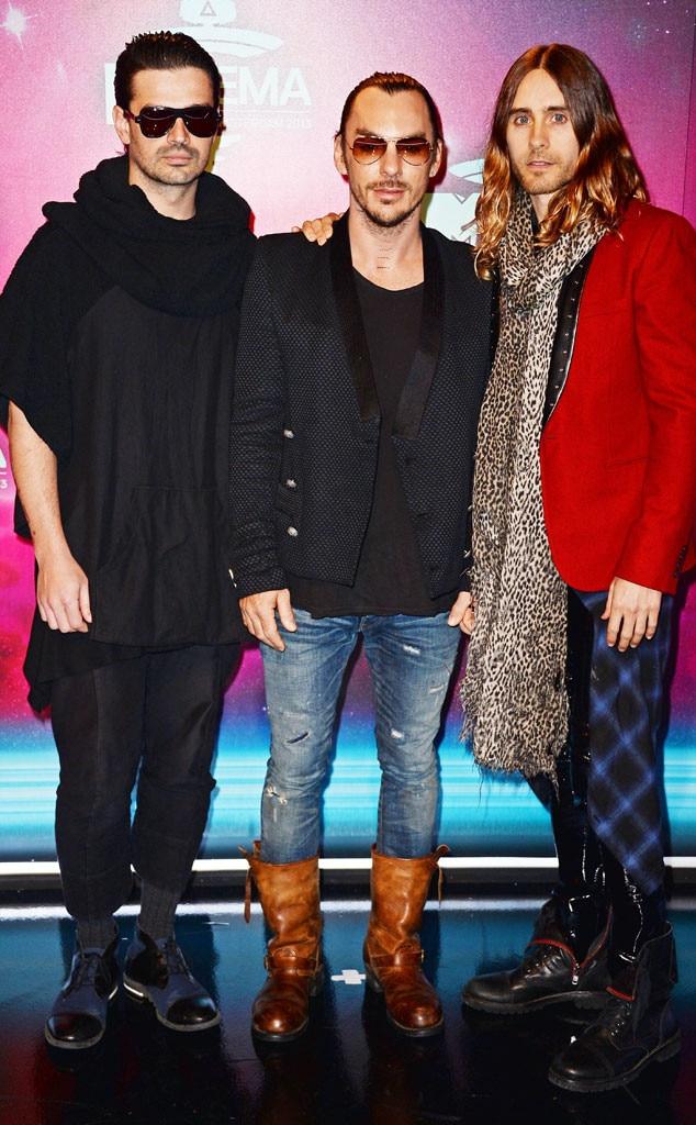 Tomo Milicevic, Shannon Leto, Jared Leto, 30 Seconds to Mars