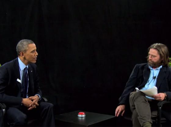 President Obama, Zach Galifianakis