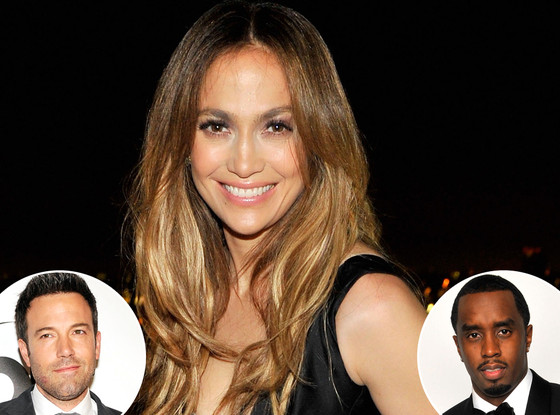 Jennifer Lopez, Ben Affleck, Sean Diddy Combs