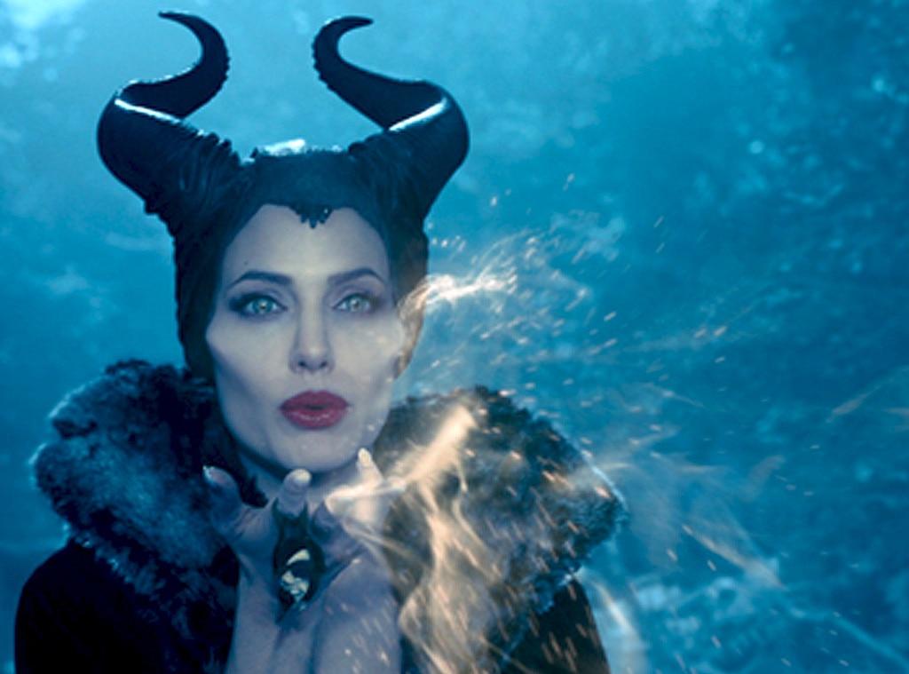 Angelina Jolie From Maleficent Movie Pics E News