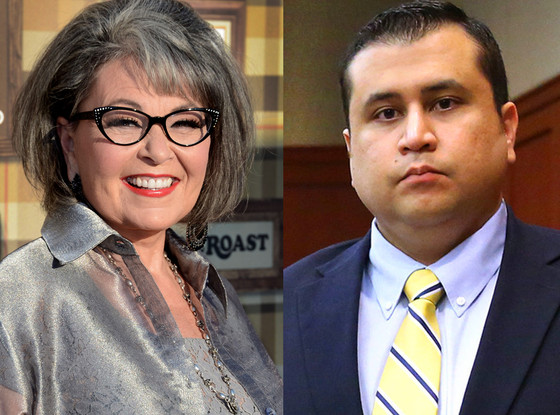 Roseanne Barr, George Zimmerman