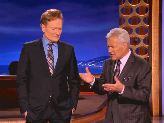 Conan O'Brien, Alex Trebek