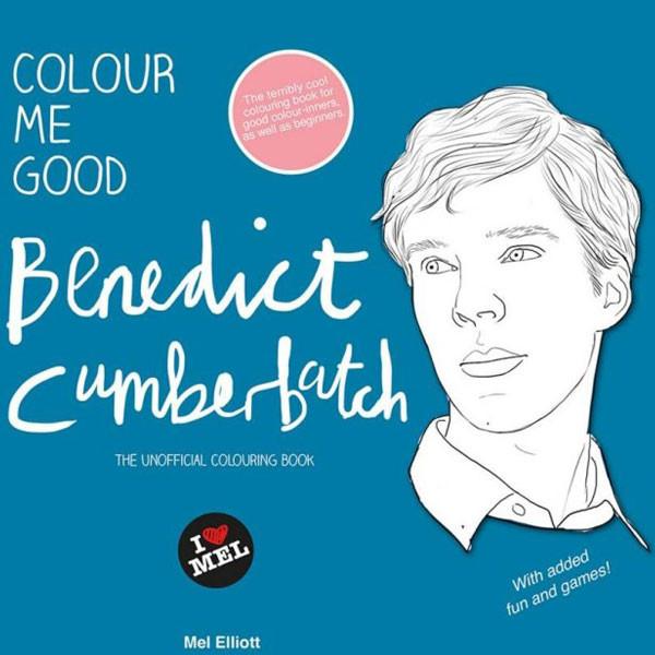 Benedict Cumberbatch coloring book
