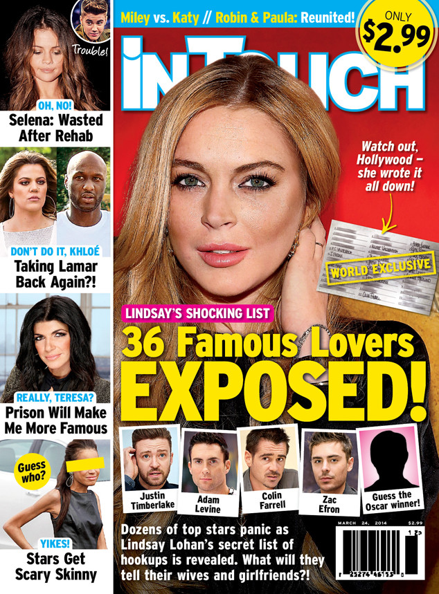 Lindsay Lohan, InTouch