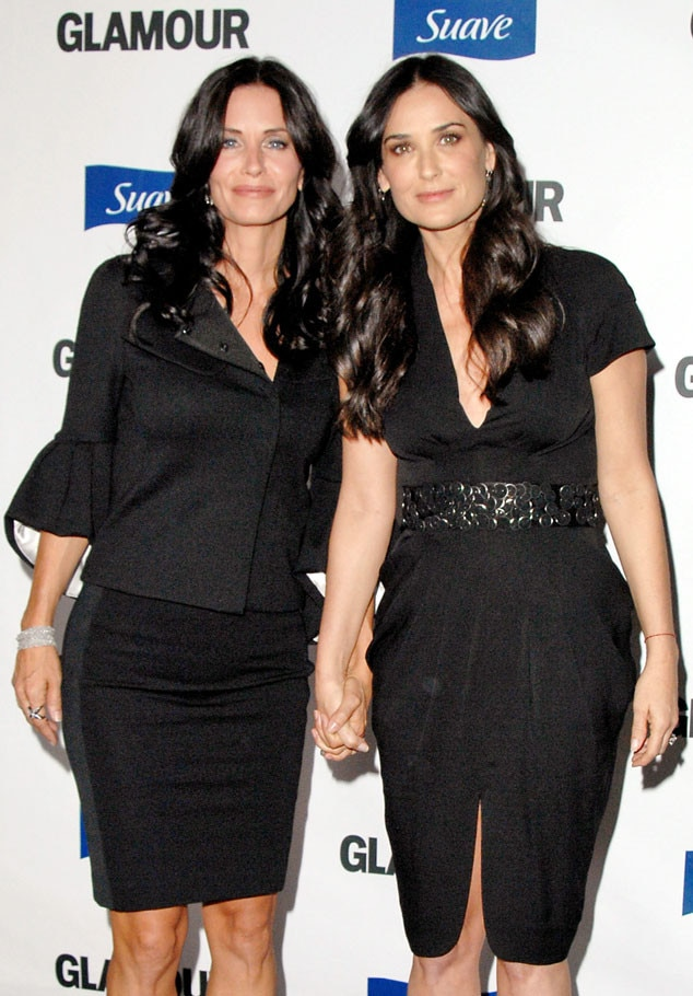 Courteney Cox, Demi Moore