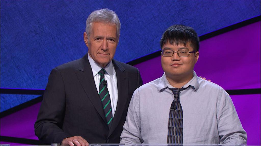 Arthur Chu, Alex Trebek, Jeopardy