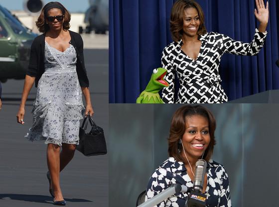 Michelle Obama, DVF, Diana Von Furstenberg