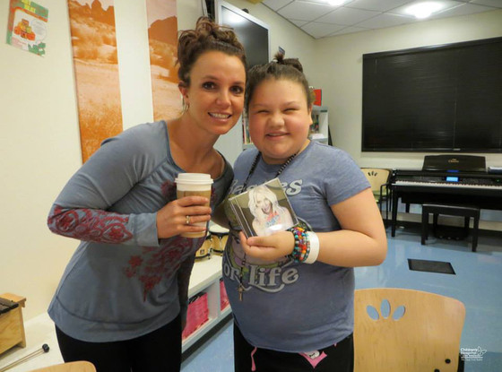Britney Spears, Children's Hospital Los Angeles
