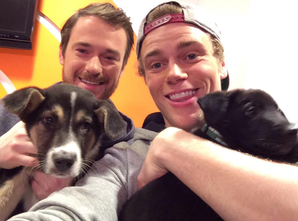 Gus Kenworthy, Twitter, Sochi Puppy