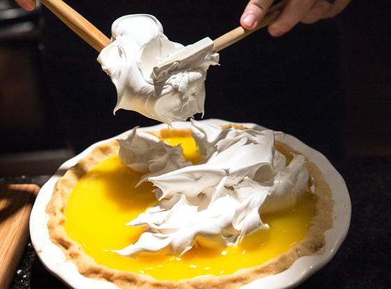 Pizza, Pie, Lemon Meringue Pie