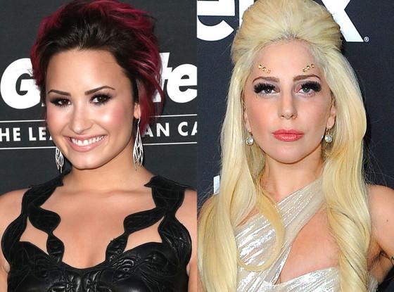 Demi Lovato, Lady Gaga
