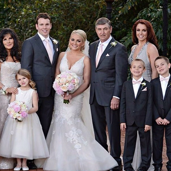 Jamie Lynn Spears, Instagram, Sisters At Weddings