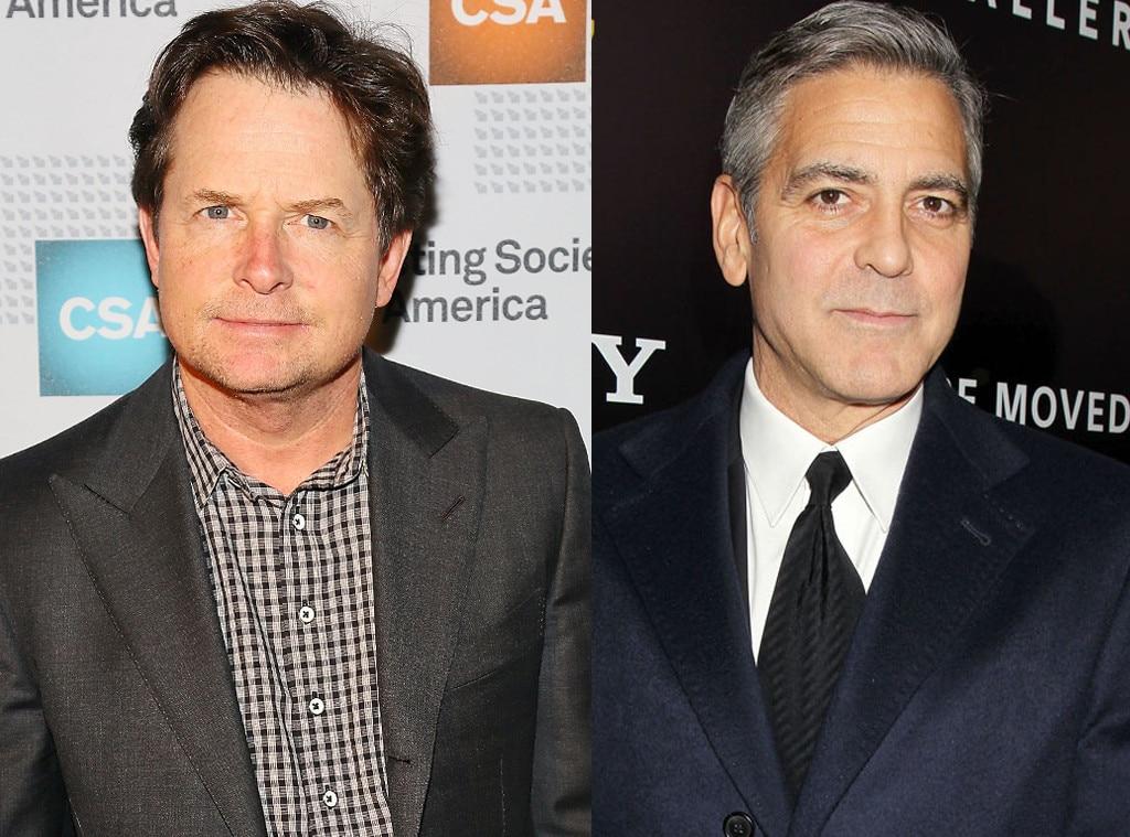 Michael J. Fox, George Clooney