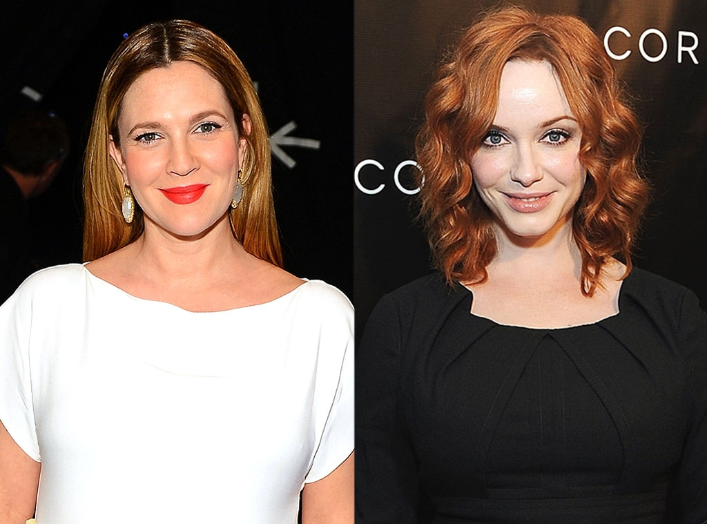 Drew Barrymore Christina Hendricks From These Stars Are