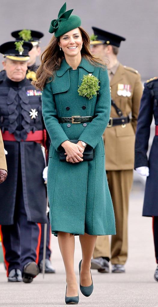 Kate Middleton, St. Patrick's Day, 2014