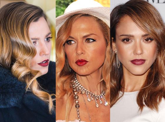 Blake Lively, Rachel Zoe, Jessica Alba, Ombre Lips