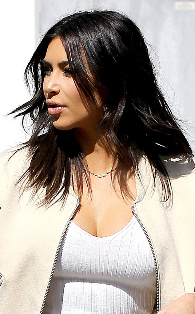Kim Kardashians New Haircutget A Better Look At Her Shorter Style