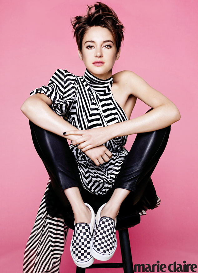 Shailene Woodley, Marie Claire