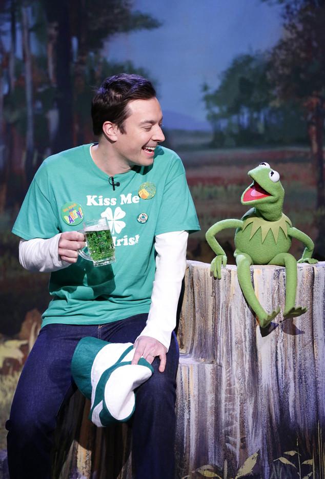 The Tonight Show Starring Jimmy Fallon, Jimmy Fallon, Kermit the Frog
