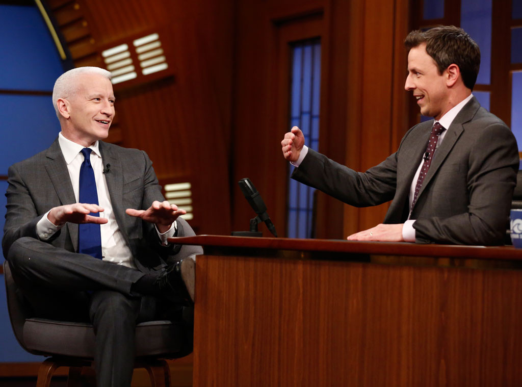 Anderson Cooper, Late Night With Seth Meyers