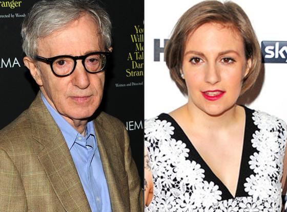 Lena Dunham, Woody Allen