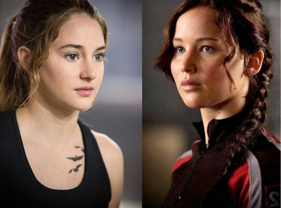 Divergent births a new heroine meet 15 more female characters who jennifer lawrence the hunger games shailene woodley divergent m4hsunfo