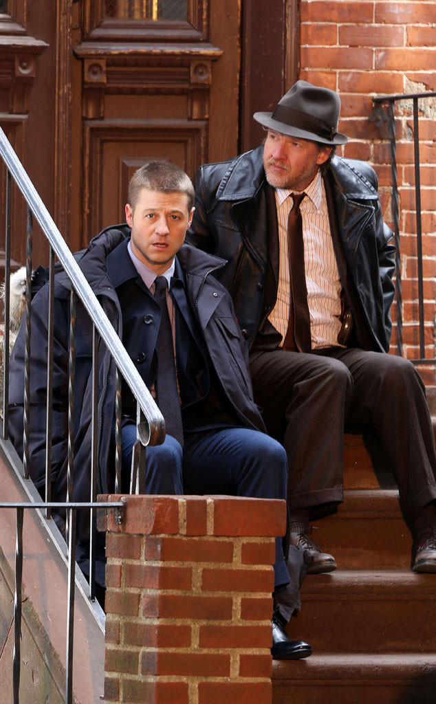 Ben McKenzie, James Gordon, Donal Logue, Harvey Bullock, Gotham