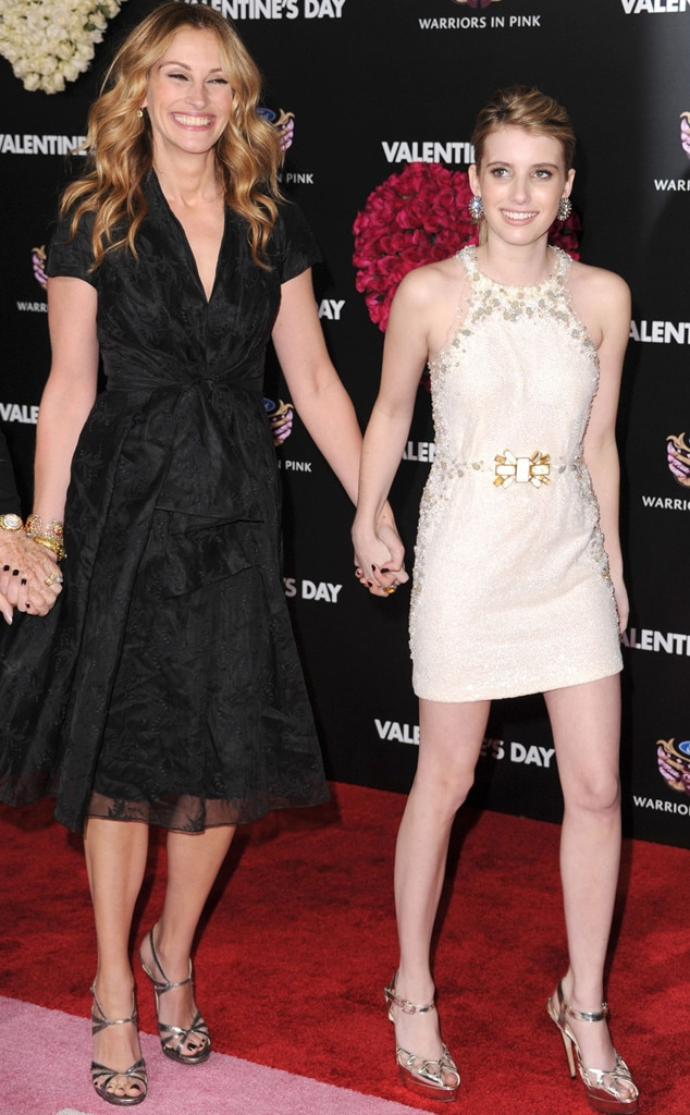 Julia & Emma Roberts from These Stars Are Related!   E! News