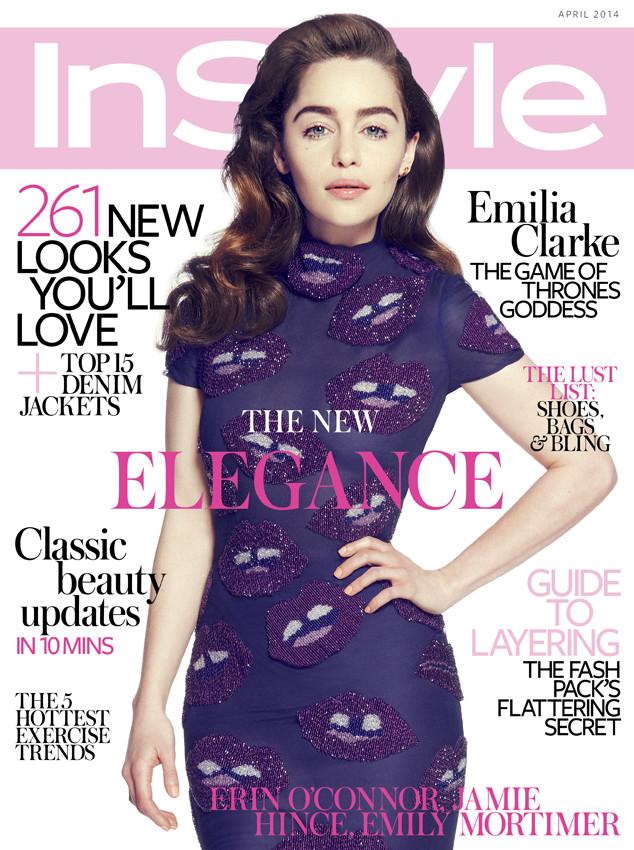 Emilia Clarke, Instyle UK