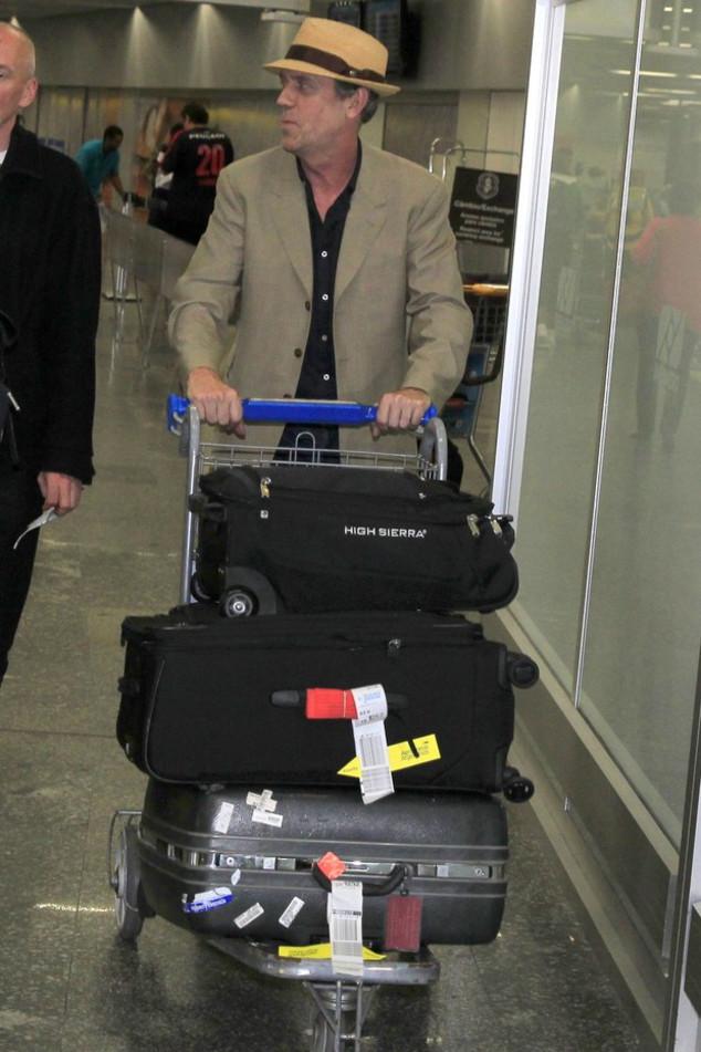 Hugh Laurie de House chega ao Brasil