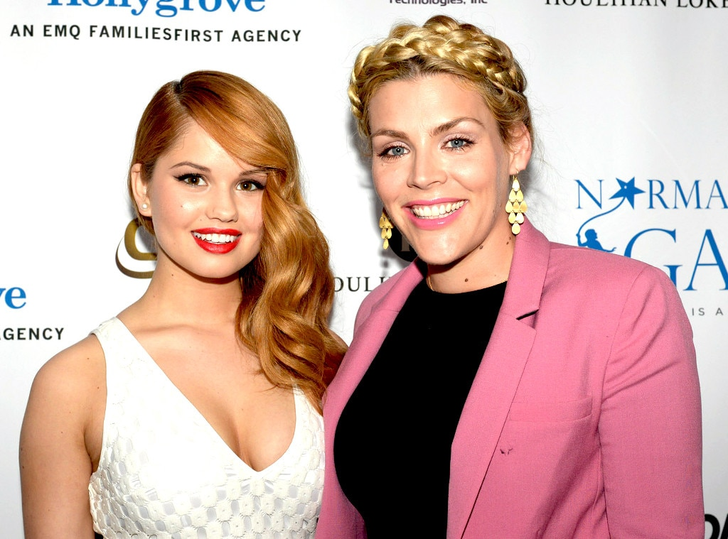 Debby Ryan and Busy Philipps