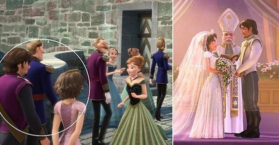 Teoria Disney, Enrolados, Frozen, A Pequena Sereia