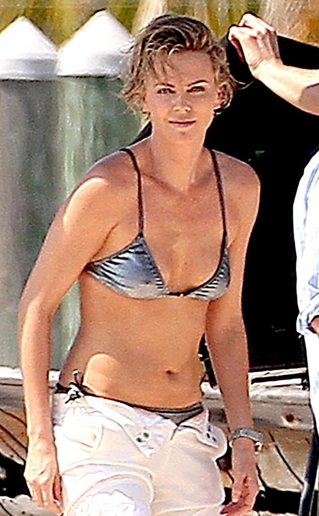 Charlize theron nude bikini pics 33