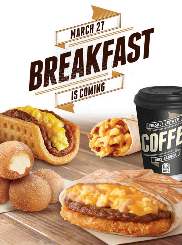 Taco Bell Now Serves Breakfast Here S How Their A M Menu Tastes