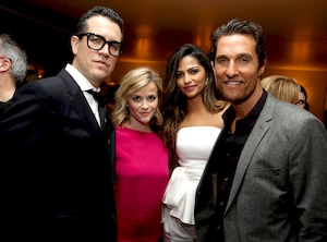 Jim Toth, Reese Witherspoon, Camila Alves and Matthew McConaughey